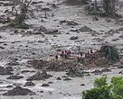 Mar de lama em Mariana (MG), tragédia ocorria após rompimento da barragem da Samarco.