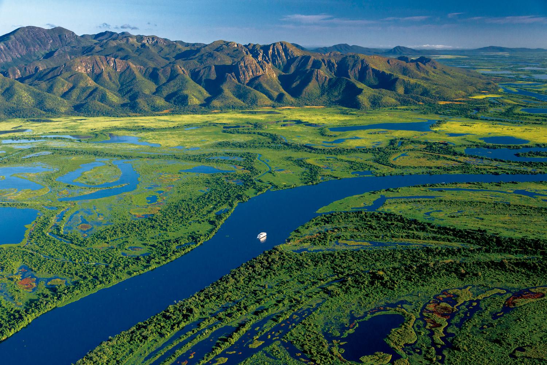 Pantanal: Serra do Amolar, no Parque Nacional do Pantanal Mato-Grossense - divisa dos estados Mato Grosso e Mato Grosso do Sul