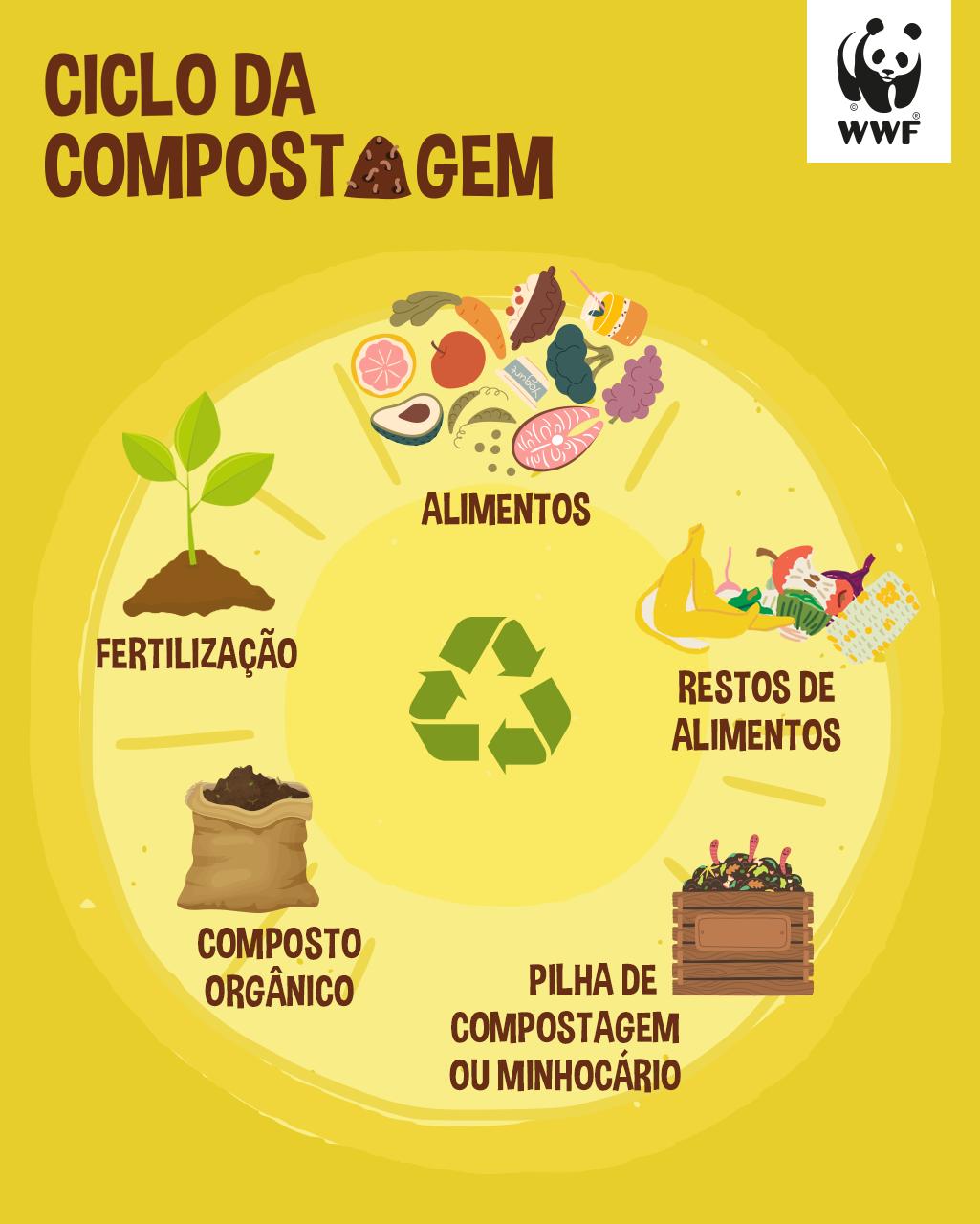 Passo-a-passo para elaborar sua composteira | WWF Brasil